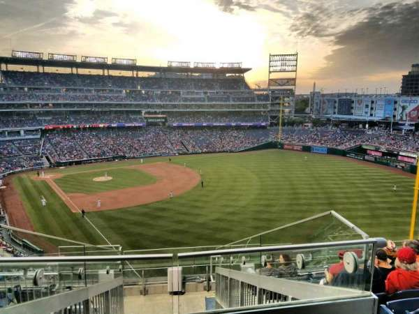 Nationals Park, secção: 232, fila: J, lugar: 20