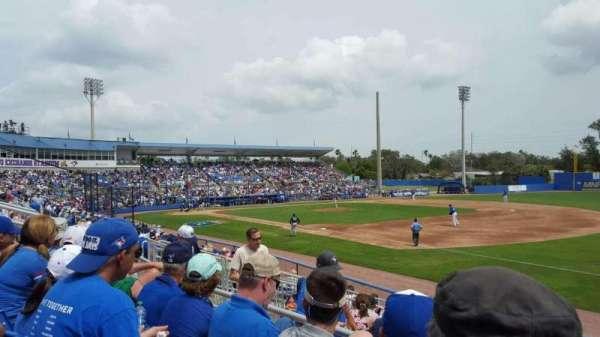 Florida Auto Exchange Stadium, secção: 200A, fila: 3, lugar: 11