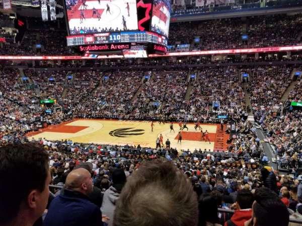 Scotiabank Arena, secção: 118, fila: 27, lugar: 6