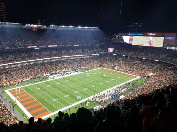 FirstEnergy Stadium, secção: 528, fila: 26, lugar: 8