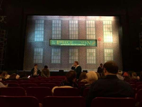 Cadillac Palace Theater, secção: Orchestra C, fila: J, lugar: 109
