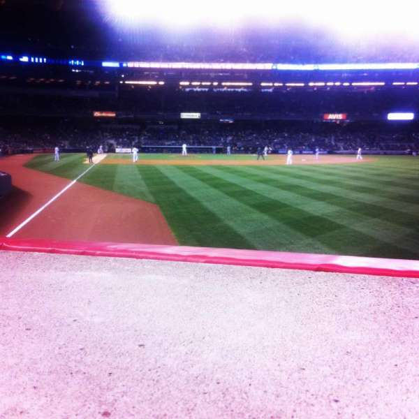 Yankee Stadium, secção: 107, fila: 10, lugar: 6