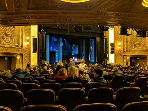 Paramount Theatre (Seattle), secção: MF4, fila: AA, lugar: 5