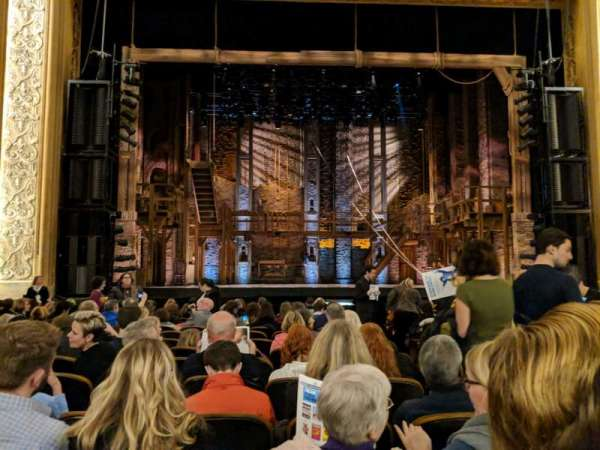 Paramount Theatre (Seattle), secção: Main Floor 3, fila: N, lugar: 2