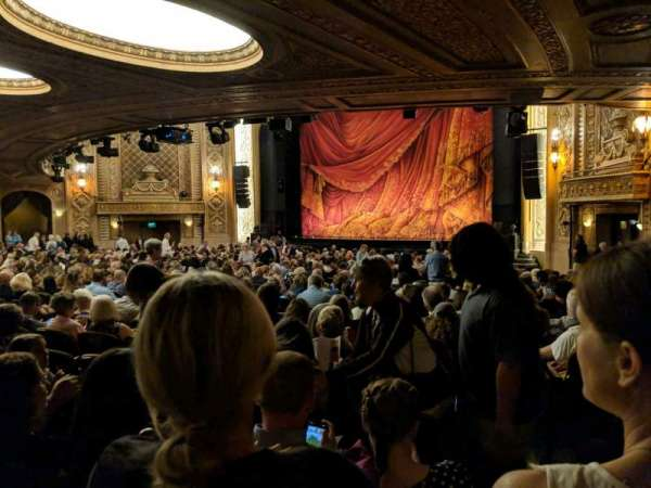 Paramount Theatre (Seattle), secção: Main Floor 1D, fila: CC, lugar: 2