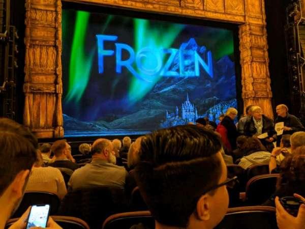 Paramount Theatre (Seattle), secção: Main Floor 3, fila: H, lugar: 9