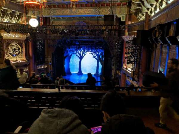 5th Avenue Theatre, secção: Upper Right, fila: M, lugar: 16