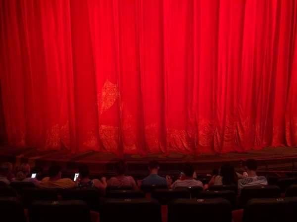 O Theatre, secção: 102, fila: H, lugar: 17-19