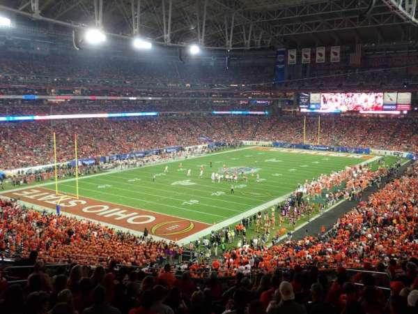 State Farm Stadium, secção: 247, fila: 13, lugar: 6