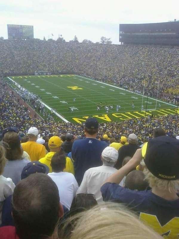 Michigan Stadium, secção: 38