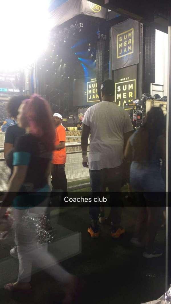 MetLife Stadium, secção: 50 yard line, fila: Coach club