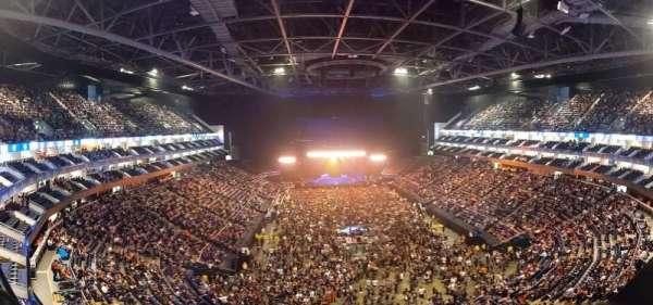 The O2 Arena, secção: 411, fila: A, lugar: 699