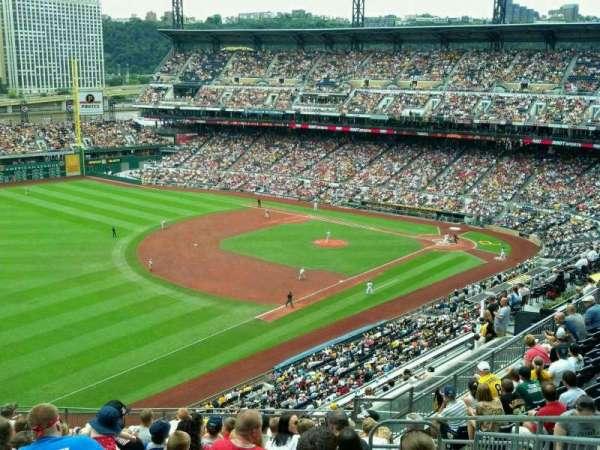 PNC Park, secção: 331, fila: M, lugar: 5