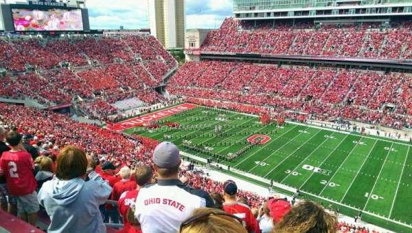 Ohio Stadium, secção: 16C, fila: 24, lugar: 29
