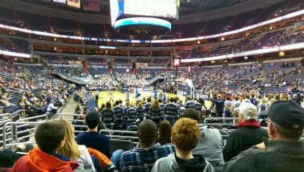 Capital One Arena, secção: 115, fila: F, lugar: 6
