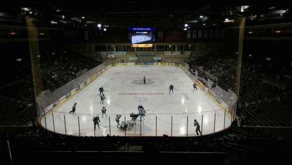 Erie Insurance Arena, secção: STE311, fila: A, lugar: 4