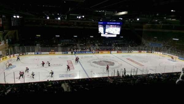 Erie Insurance Arena, secção: Suite 302, fila: SA, lugar: 7