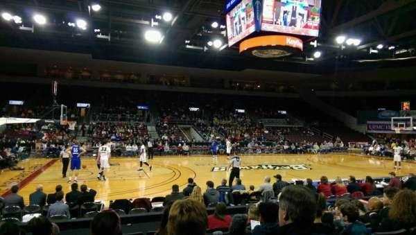 Erie Insurance Arena, secção: 103, fila: H, lugar: 9