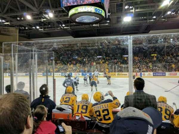 Erie Insurance Arena, secção: 119, fila: E, lugar: 2