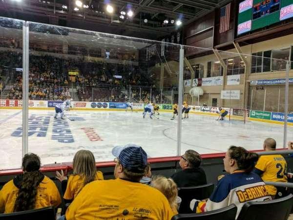 Erie Insurance Arena, secção: 120, fila: D, lugar: 4