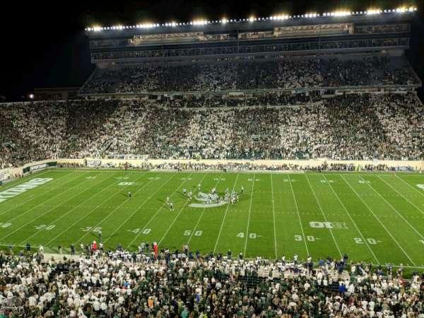 Spartan Stadium, secção: 108, fila: 2, lugar: 12