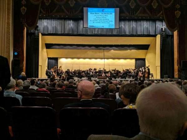 Warner Theatre (Erie), secção: 103, fila: T, lugar: 11