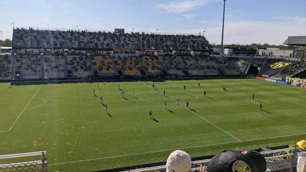 Historic Crew Stadium, secção: 208, fila: 5, lugar: 13