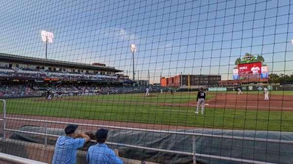 Day Air Ballpark, secção: 106, fila: 3, lugar: 9