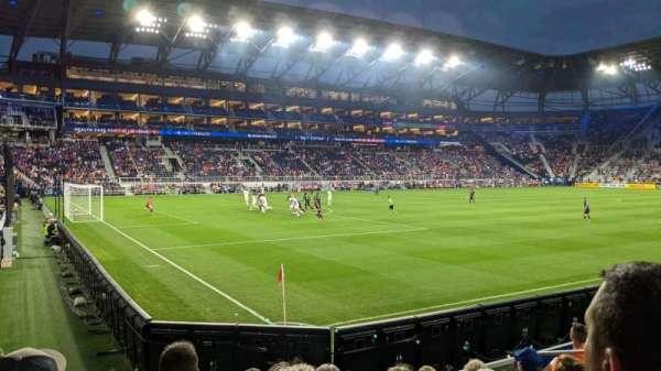 TQL Stadium, secção: 124, fila: 7, lugar: 7
