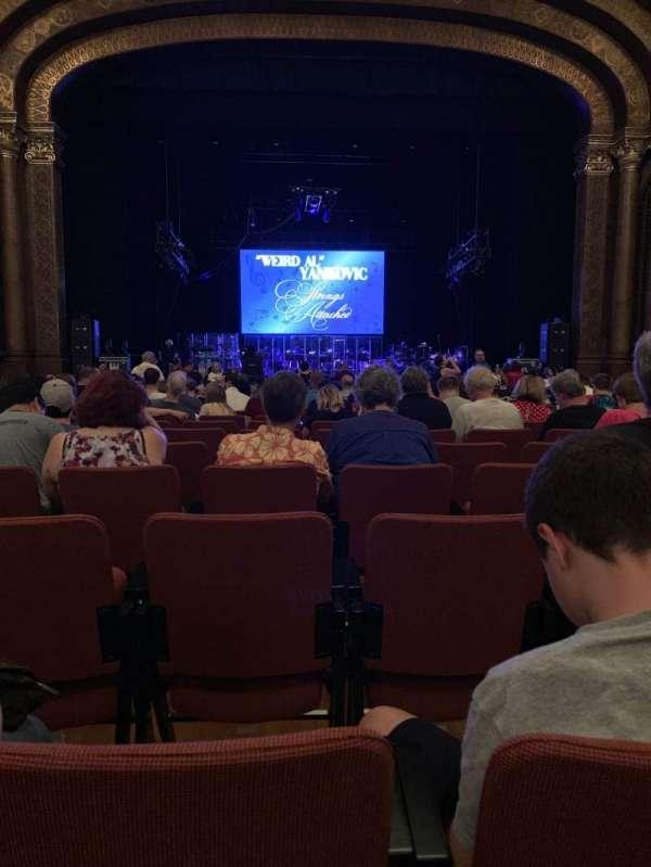 Sacramento Memorial Auditorium, secção: Floor, fila: T, lugar: 109