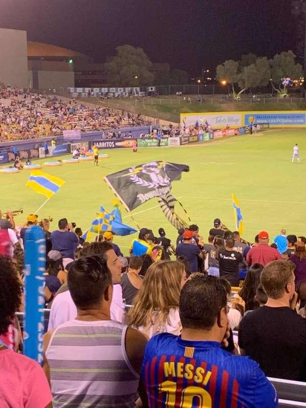 Cashman Field, secção: Spectator, fila: GA, lugar: GA