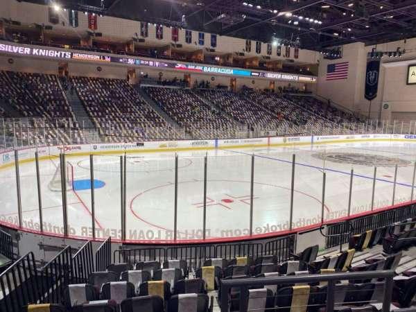 Orleans Arena, secção: 107, fila: C, lugar: 1
