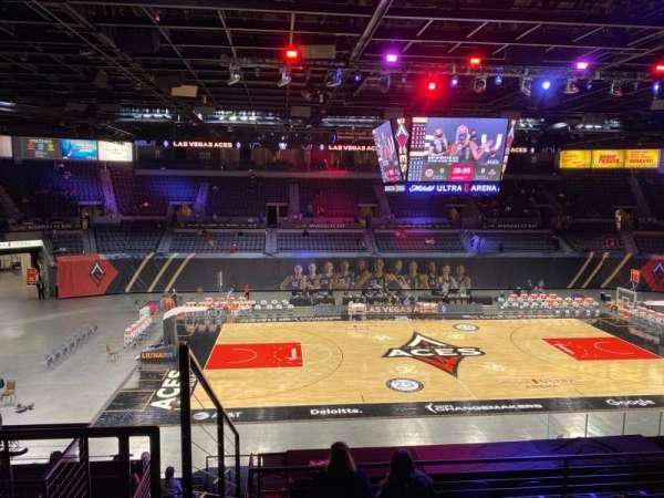 Michelob Ultra Arena, secção: 206, fila: G, lugar: 7