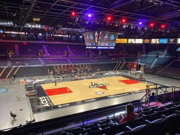 Michelob Ultra Arena, secção: 205, fila: G, lugar: 8