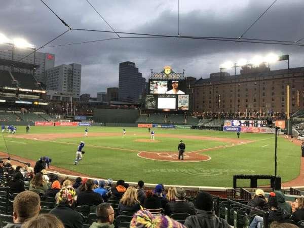 Oriole Park at Camden Yards, secção: 40, fila: 14, lugar: 2
