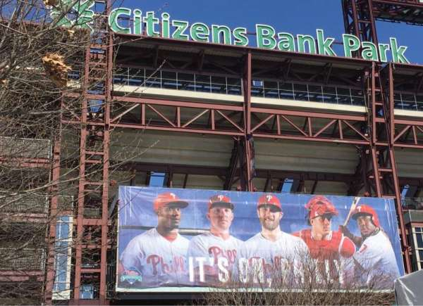 Citizens Bank Park, secção: EXTERIOR