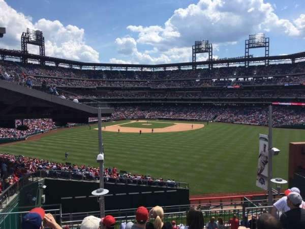 Citizens Bank Park, secção: ROOFTOP BLEACHERS, fila: 7, lugar: 1