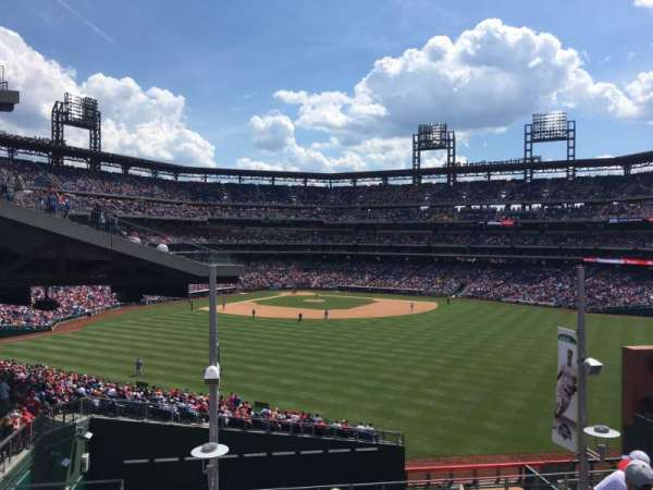 Citizens Bank Park, secção: ROOFTOP BLEACHERS, fila: 6, lugar: 1