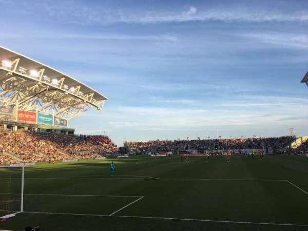 talen energy stadium, secção: 116, fila: E, lugar: 1