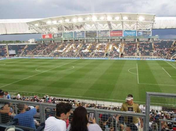 talen energy stadium, secção: 304, fila: 2, lugar: 1