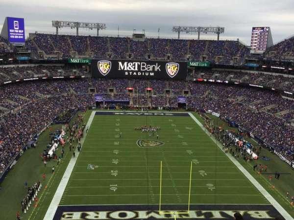 M&T Bank Stadium, secção: 541, fila: 19, lugar: 6