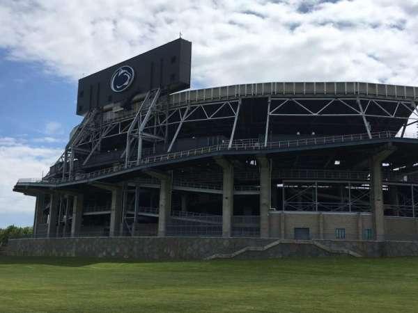 Beaver Stadium, secção: EXTERIOR