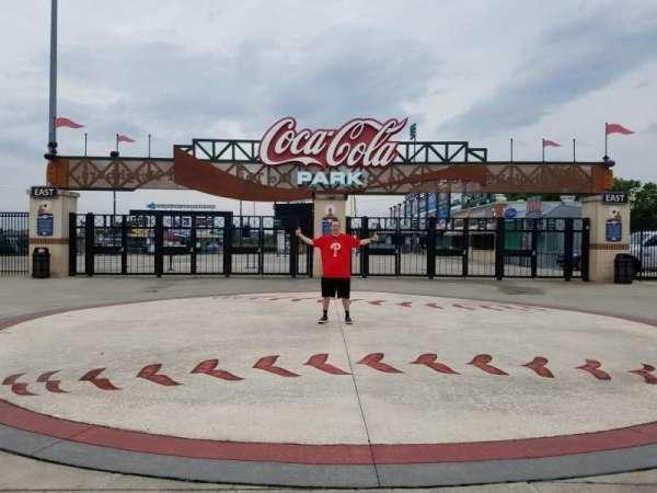 Coca-Cola Park, secção: EXTERIOR