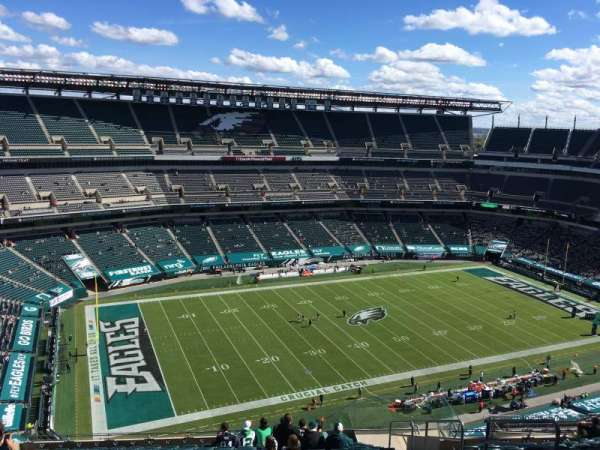Lincoln Financial Field, secção: 241, fila: 21