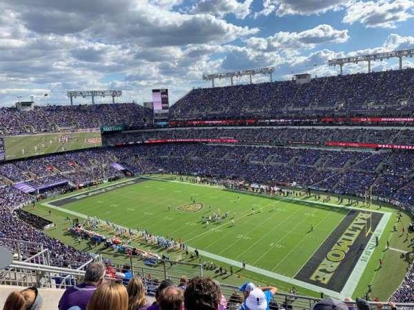 M&T Bank Stadium, secção: 548, fila: 10, lugar: 11