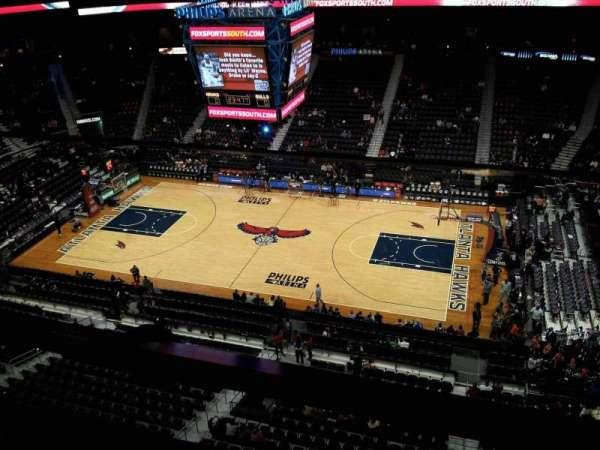 State Farm Arena, secção: Suite seats
