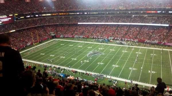 Georgia Dome, secção: 319, fila: 17, lugar: 22