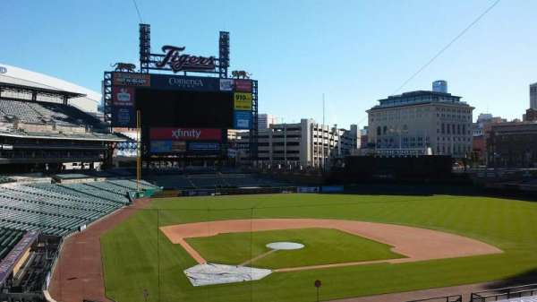 Comerica Park, secção: Press Box