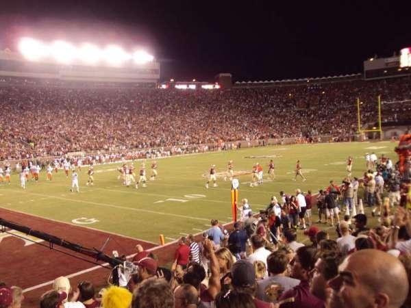 Bobby Bowden Field at Doak Campbell Stadium, secção: 38, fila: 9, lugar: 5-6