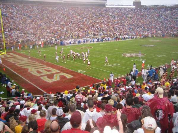 Bobby Bowden Field at Doak Campbell Stadium, secção: 38, fila: 26, lugar: 17-18